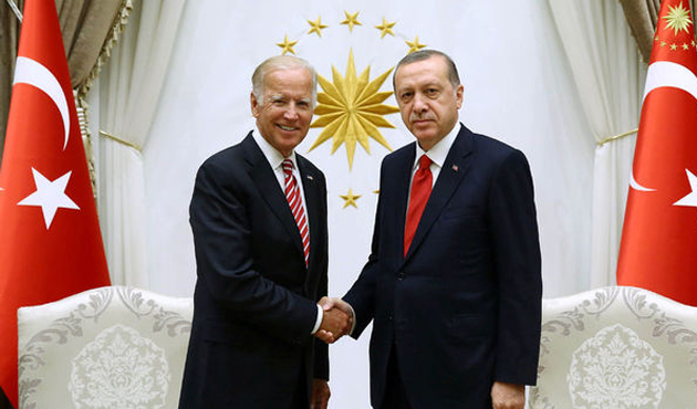 Cumhurbaşkanı Erdoğan Biden'la görüştü