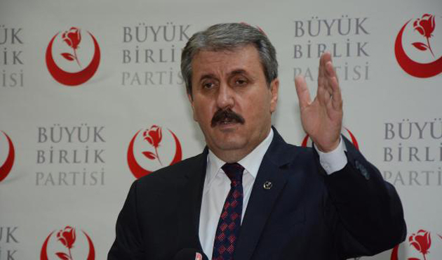 Destici: Türkiye'ye düşmanlık ettiklerinin farkındayız