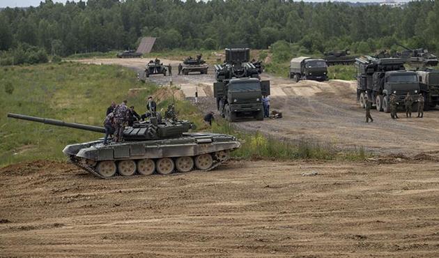 Rusya'dan askeri tatbikat sürprizi