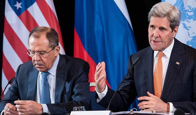 Kerry ve Lavrov Suriye'yi görüşecek