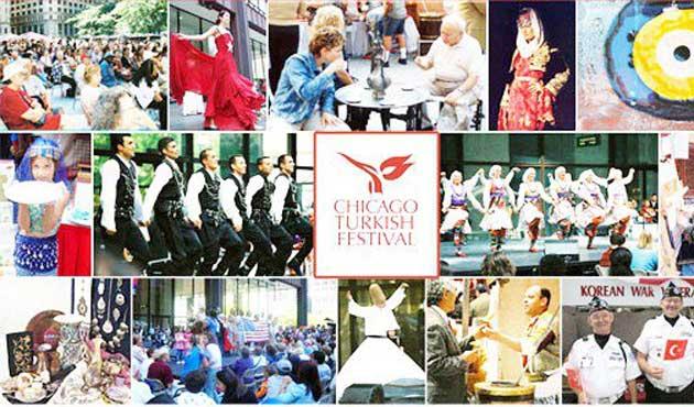 Chicago'da Türk Festivali başladı