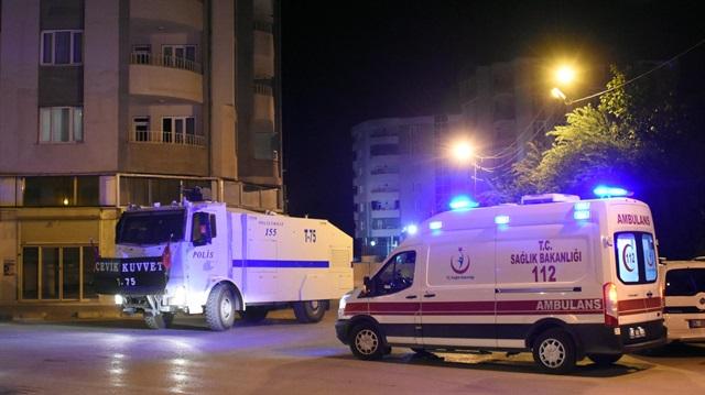 Van'da polis karakoluna saldırı