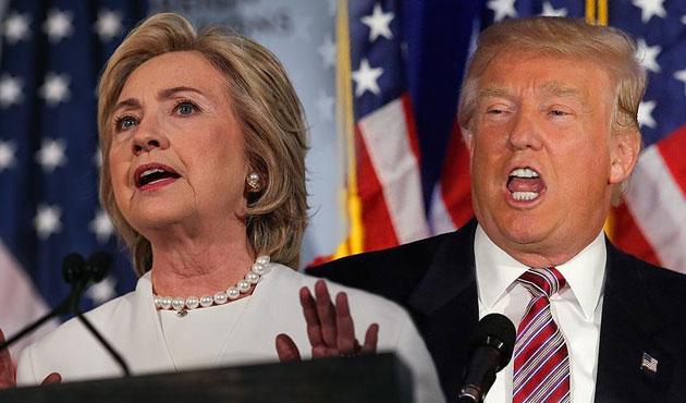 Clinton ve Trump hakkındaki iddiaların sonu gelmiyor