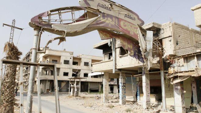 Deraya'da kontrol tamamen Suriye hükümetinde