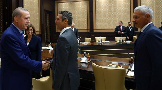 Cumhurbaşkanı Erdoğan TÜSİAD'ı kabul etti