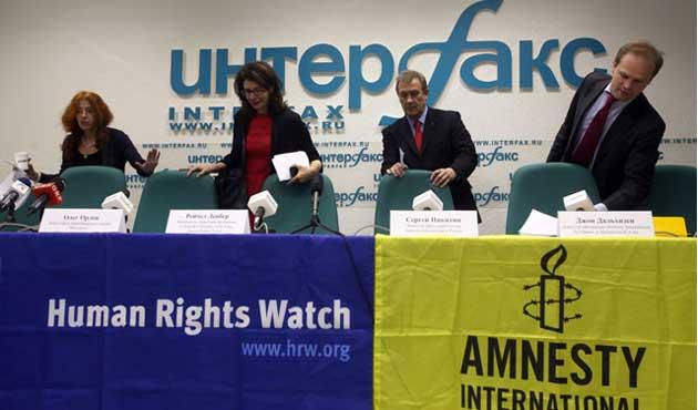 Rusya'dan HRW'ye rakip