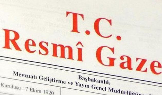Sınai Mülkiyet Kanunu Resmi Gazete'de