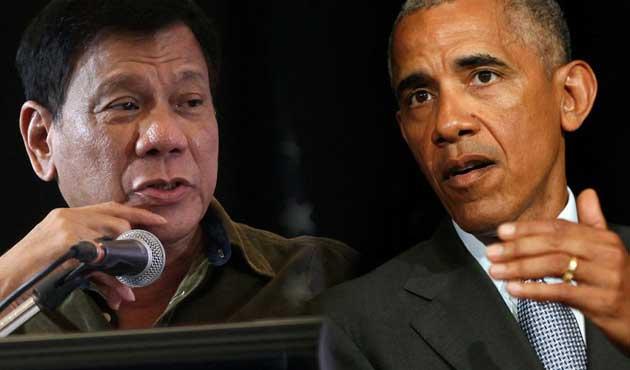 Duterte'den Obama'ya çok ağır hakaret