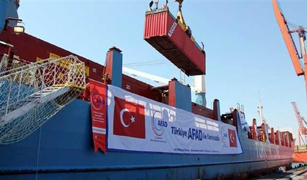 Türkiye'nin ikinci yardım gemisi Gazze'ye ulaştı