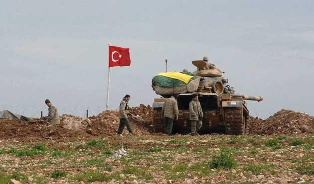 Suriye sınırında bir PKK'lı yakalandı