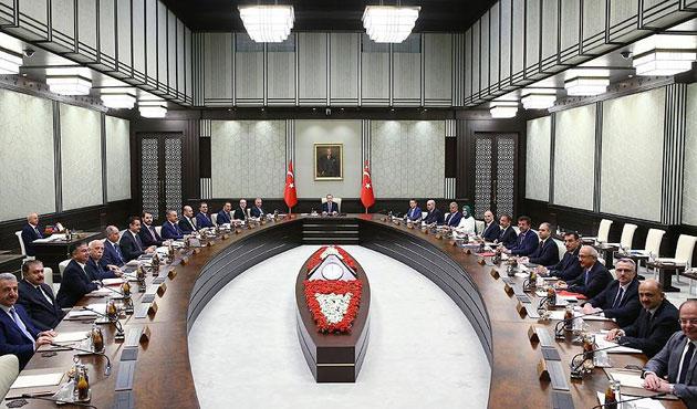 Bakanlar Kurulu Erdoğan başkanlığında toplanacak