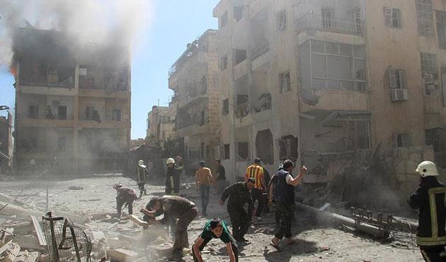 Halep'te Rus saldırısı; 28 ölü