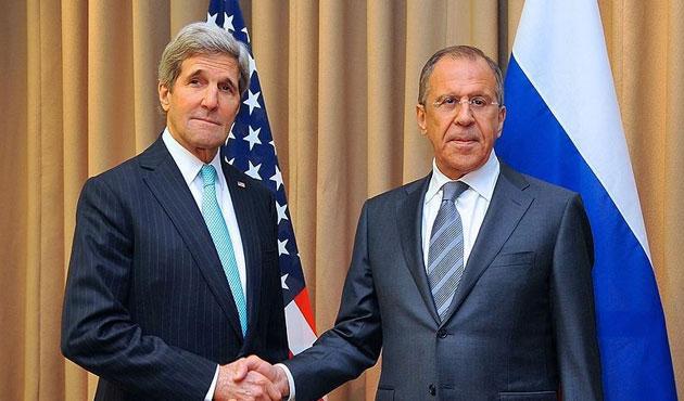 Lavrov ve Kerry'den Suriye diplomasisi