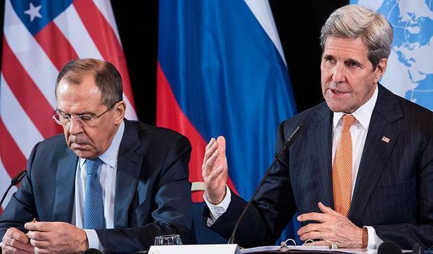 Kerry ve Lavrov'dan bir günde iki görüşme