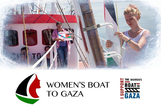Gazze yolunda kadın gemisi