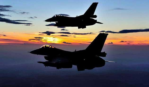 Türk jetleri Suriye'de IŞİD'i vurdu