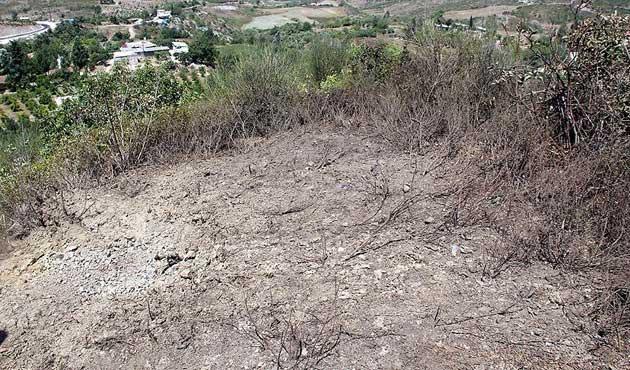 Yayladağı kırsalına top mermisi