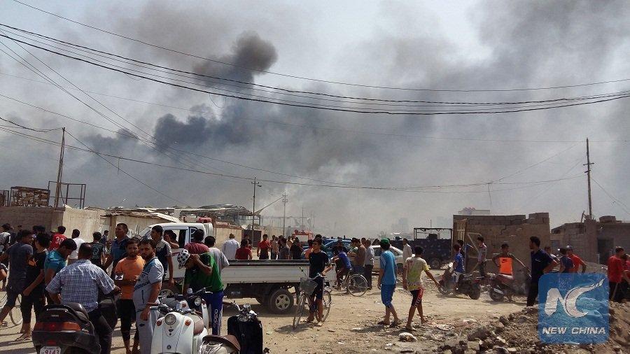 Bağdat'ta saldırı: 7 ölü