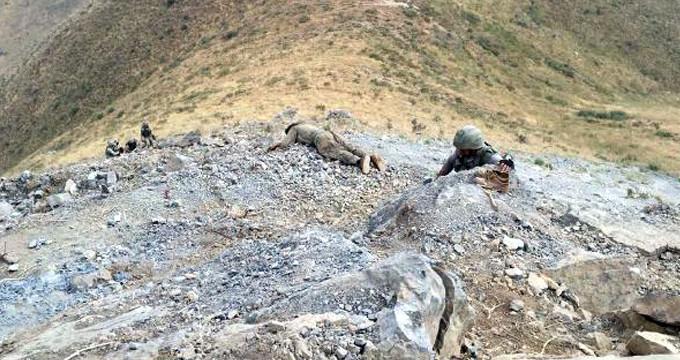 Çukurca'da 2 PKK'lı etkisiz hâle getirildi