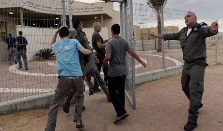 Gazze Şeridi'ne 4 havan topu düştü