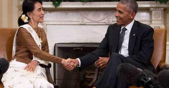 ABD Myanmar'a yaptırımları kaldırıyor