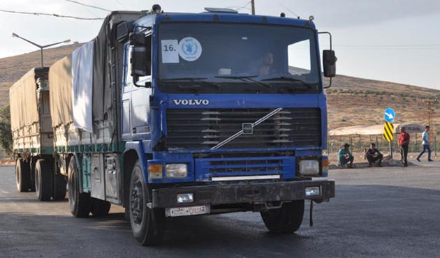 40 TIR'lık yardım konvoyu 2 gündür sınırda bekliyor