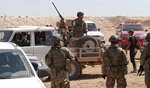 ÖSO ABD askerlerini Çobanbey'den çıkardı | VİDEO