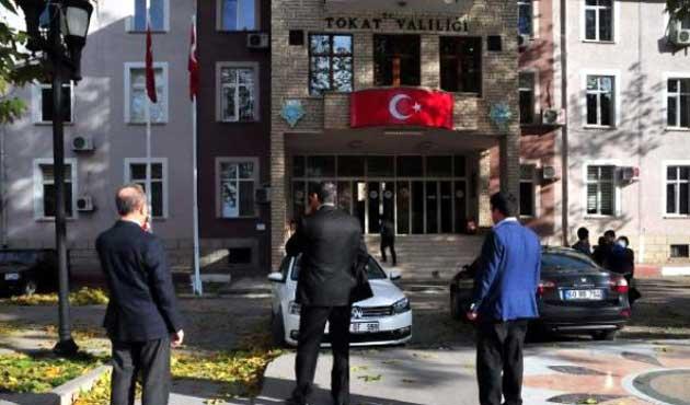 Tokat'ta 2 gün basın açıklaması ve miting yasağı