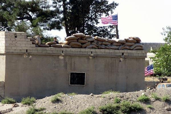 ABD bayrakları sahiplendi; 'başkalarının asmasına izin vermeyiz'