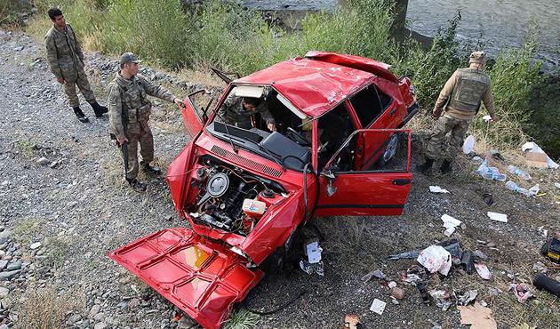 Tatilde sekiz günde onlarca kaza, 62 ölü