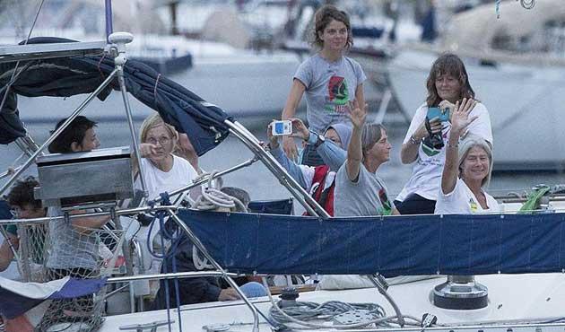 Gazze gemisi İspanya'dan koruma istedi