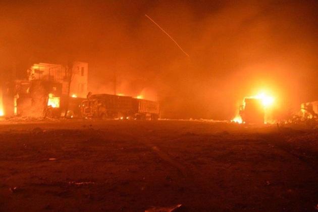 BM'den Esad rejimine yardım konvoyu tepkisi