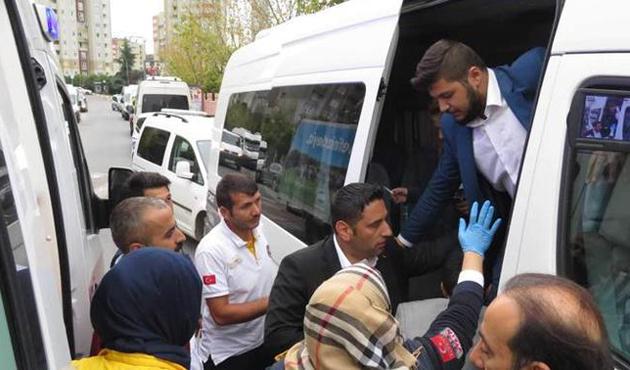 Ümraniye'de ilkokul önündeki servise silahlı saldırı