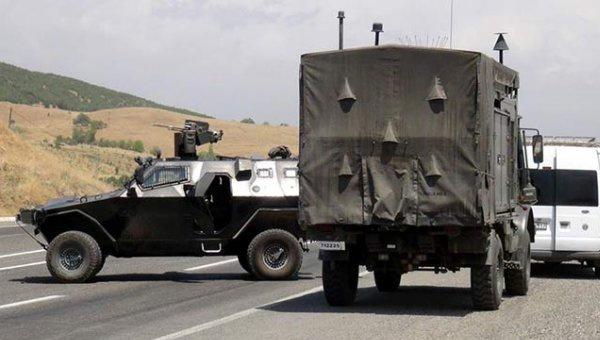 Van'da bomba yüklü araç yakalandı