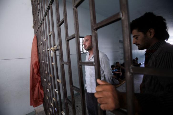 Filistinli açlık grevindeki mahkumlar zor durumda