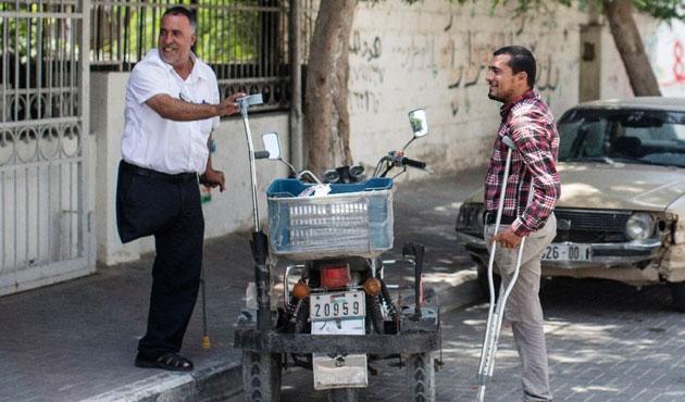 İsrail'in 'engelli' bıraktığı şehir: Gazze | FOTO