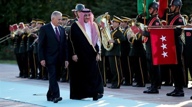 Suudi Arabistan Veliaht Prensi Türkiye'de