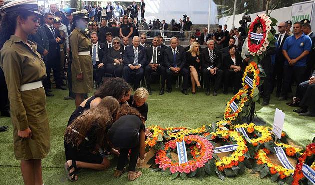 Şimon Peres toprağa verildi