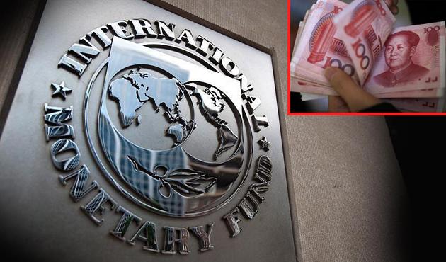 Yuan resmen IMF'nin sepetinde