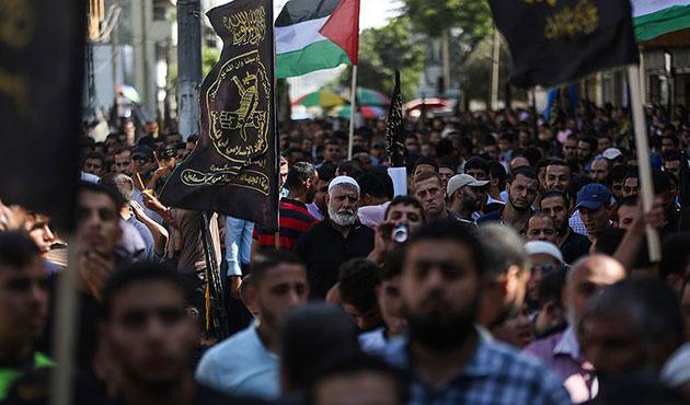 Gazze'de Filistin ayaklanmasının birinci yılı etkinliği