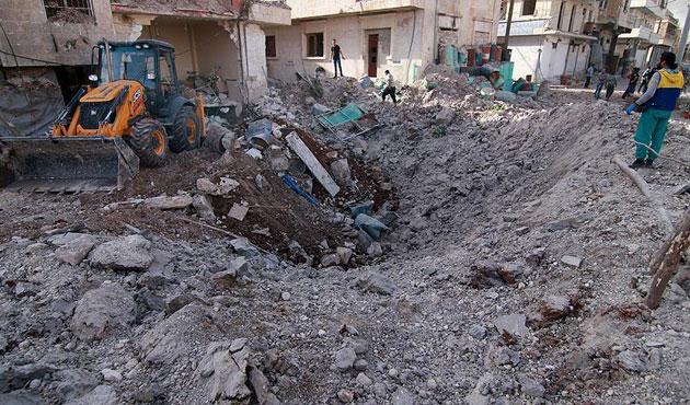 Halep'te yine hastane saldırısı