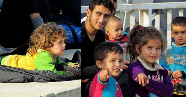 Umut yolculuğuna çıkan 134 mülteci yakalandı