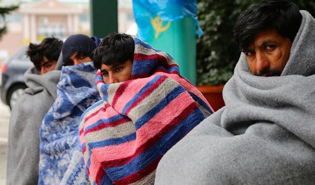 Kırklareli'nde 55 sığınmacı yakalandı