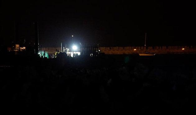 Alıkonulan Zaytouna gemisi Aşdot Limanı'nda