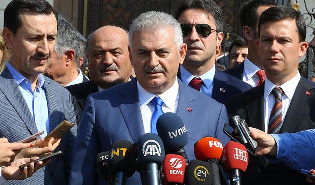 Başbakan Yıldırım'dan Bağdat'a tepki