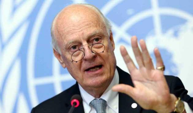 Suriyeli Muhalifler: De Mistura istifa etsin
