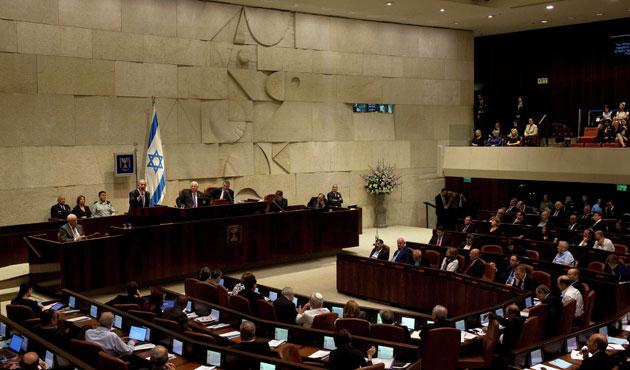 İsrail Meclisi'nde ezanlı protesto