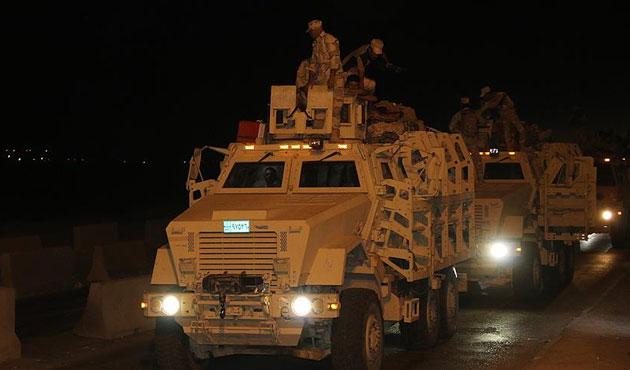 Irak ordusundan Musul'a sevkiyat
