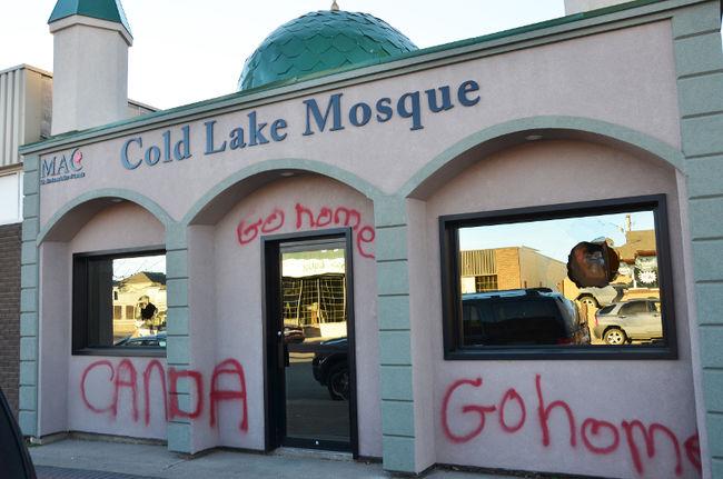 Kanada'da camiye saldırı
