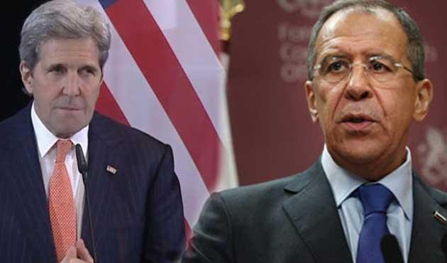 Lavrov ve Kerry Suriye için biraraya gelecek